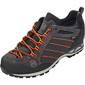 Hanwag Makra GTX Low-Cut Schuhe Herren asphalt/orange